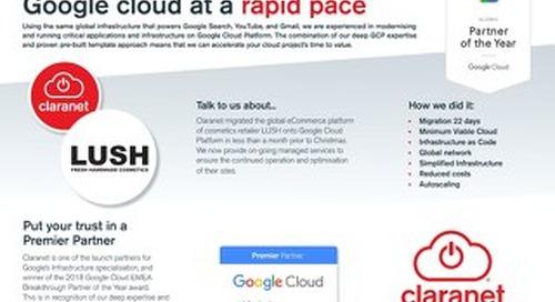 Claranet | Google Cloud Platform
