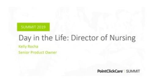 A Day in the Life of a Director of Nursing