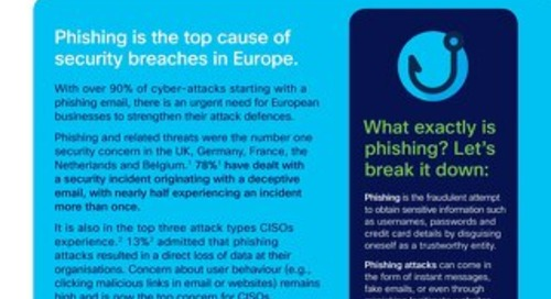 Cisco Umbrella, Duo Security & Cisco Email Security: The European Phishing Threat