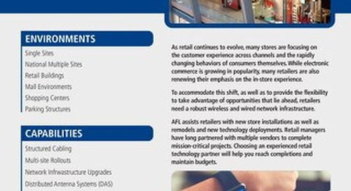 AFL Service Solutions - Retail Project Snapshot