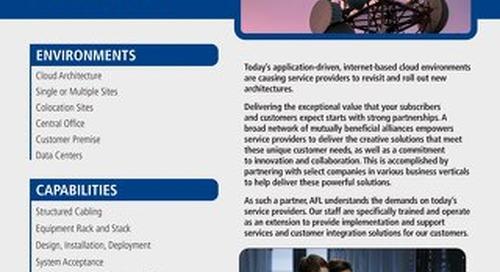 AFL Service Solutions - Service Provider