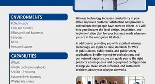 AFL Service Solutions - Wi-Fi