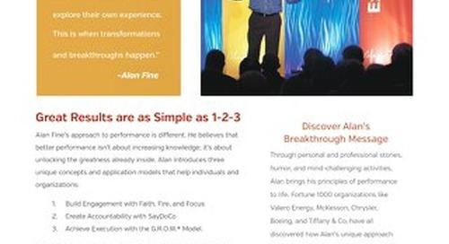 Alan Fine Keynote