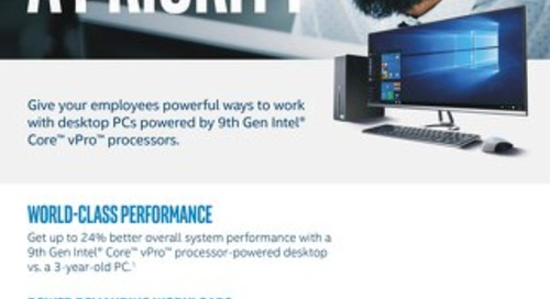 9th Gen Intel® Core™ vPro™ Processors