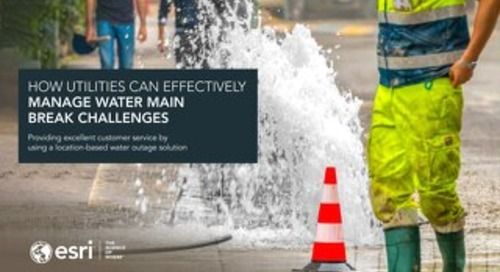 How Utilities Can Effectively Manage Water Main Break Challenges