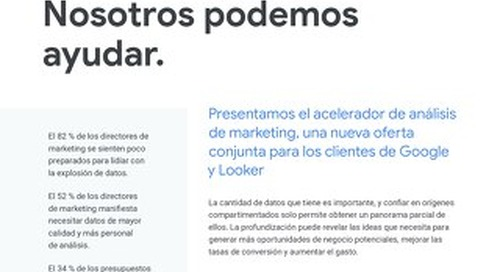 Acelerador de análisis de marketing de Google Cloud y Looker