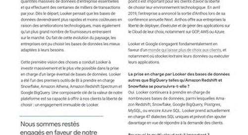 Looker : la stratégie multi-cloud et le pouvoir du choix