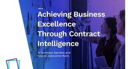 An Analysis Framework for Enterprise Contract Management