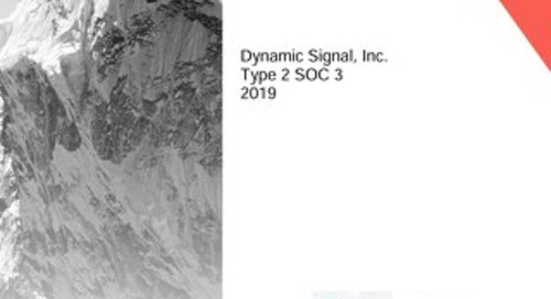 Dynamic Signal 2019 - Type 2 SOC 3 Report