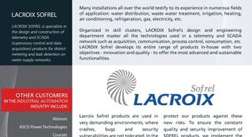 LACROIX Sofrel Case Study | GrammaTech CodeSonar