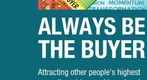 Always Be The Buyer