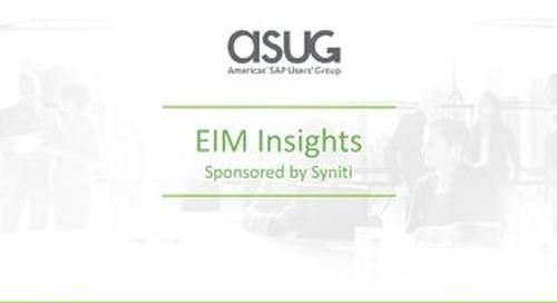 ASUG EIM Survey Results