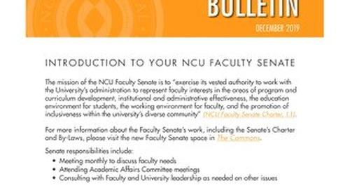 Faculty Senate Newsletter_Dec 2019_v2FINAL