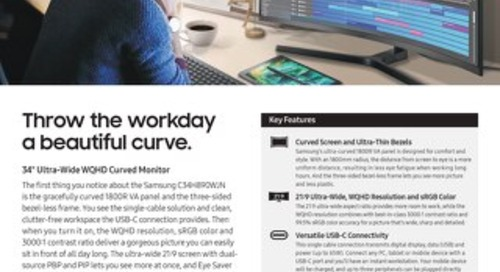 CH890 Series Desktop Monitor - Samsung