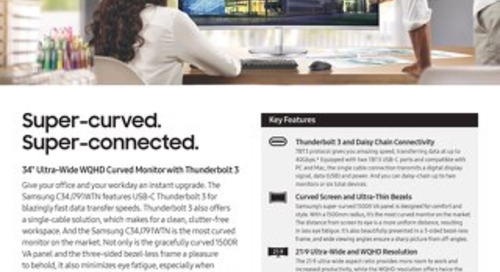 Samsung CJ791 Series Desktop Monitor