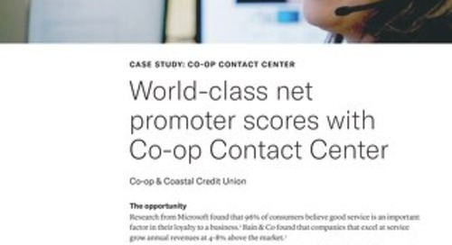 Contact Center Case Study - Coastal CU