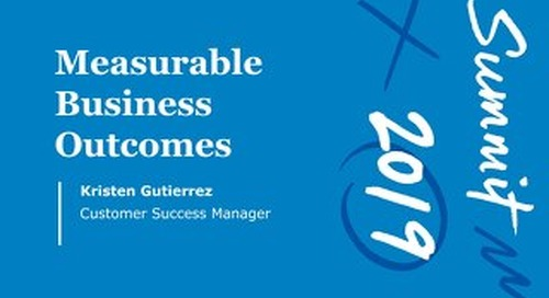Measurable Business Outcomes (Workshop Session)