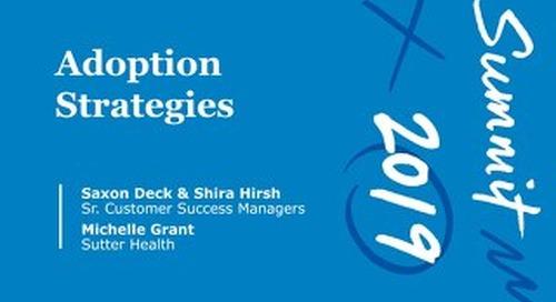 Adoption Strategy (Workshop Session)
