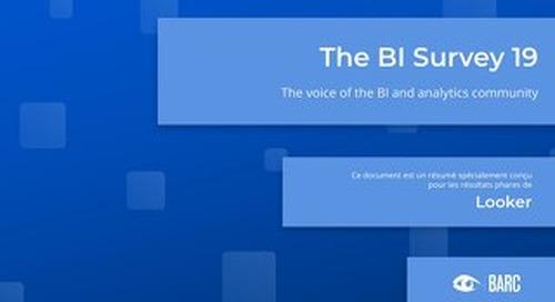 BARC The BI Survey 19 (Française)