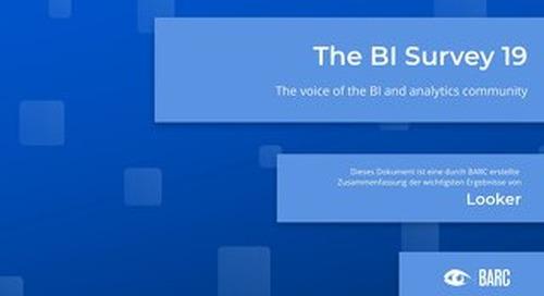BARC The BI Survey 19 (Deutsche)