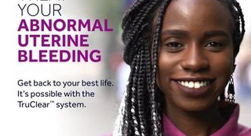 Flip Chart: Patient Overview Abnormal Uterine Bleeding and Hysteroscopy