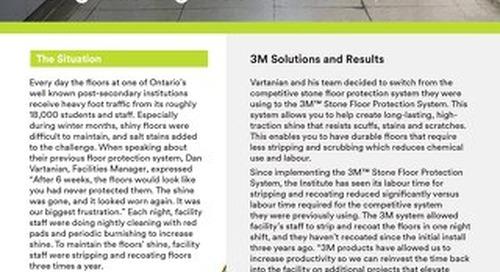 3M Solutions: The Secret to Long-Lasting Floor Shine