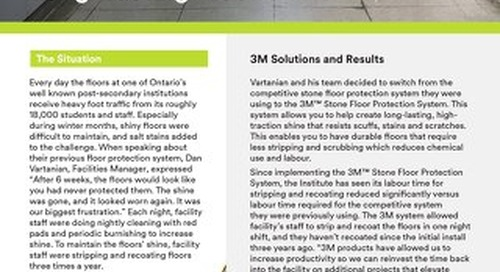 3M Solutions: The Secret to Long-Lasting Floor Shine