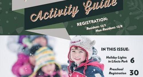 2020 Winter Activity Guide