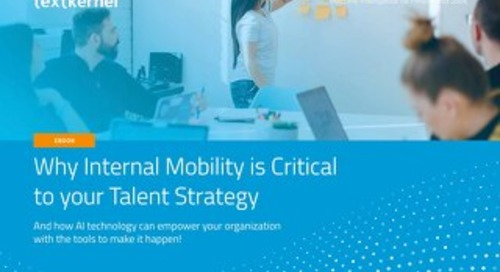 [eBook] Why Internal Mobility is critical to your talent acquisition strategy