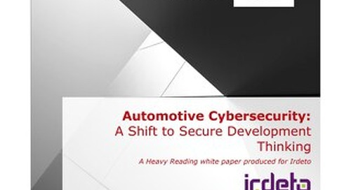 White Paper: Automotive cybersecurity - A shift to secure development thinking
