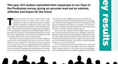 Face of the EHS Profession Survey 2019