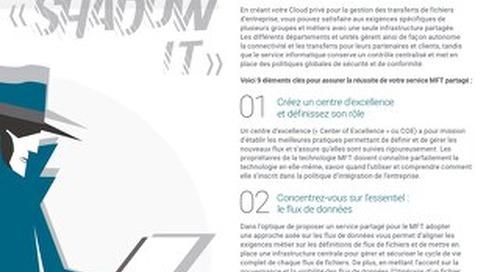 """9 éléments clés pour éliminer le """"Shadow IT"""" avec un service partagé digital pour le MFT"""