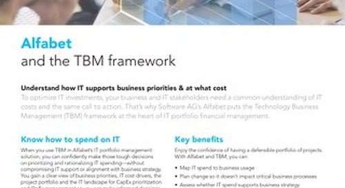 Alfabet & the TBM framework