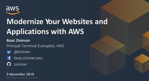 Modernize your websites