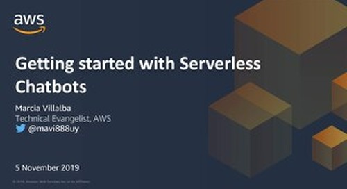 Getting started with serverless chatbots