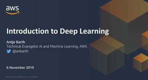 An introduction to deep learnng