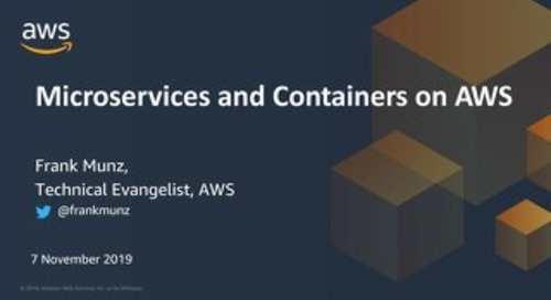 Microservices and containers on AWS
