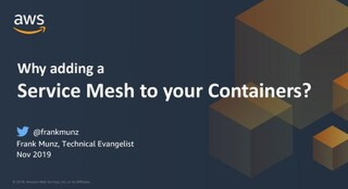 Why adding a service mesh to your container implementation