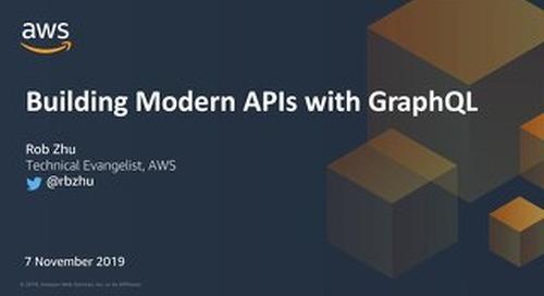 Building modern APIs GraphQL