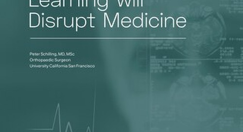 How Machine Learning Will Disrupt Medicine