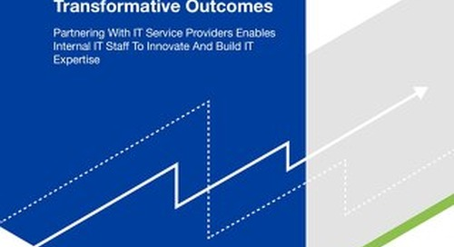 Forrester Thought Leadership Paper: Innovation Leaders Need IT Services To Drive Transformative Outcomes