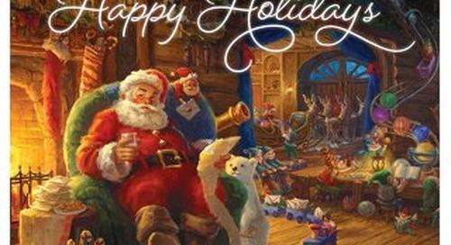Thomas Kinkade Gallery Holiday 2019 Catalog