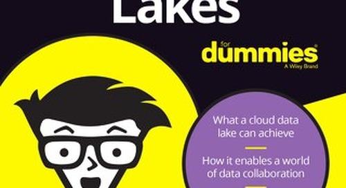 Cloud Data Lakes for Dummies