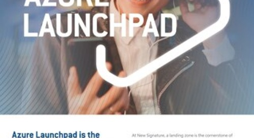 NS:GO Azure Launchpad Flyer