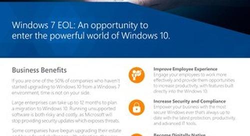 Windows 7 EOL Flyer