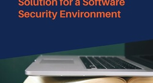 Selecting an eLearning Solution for a Software Security Environment