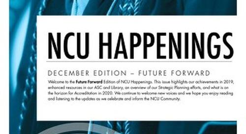 NCU Happenings Winter Newsletter