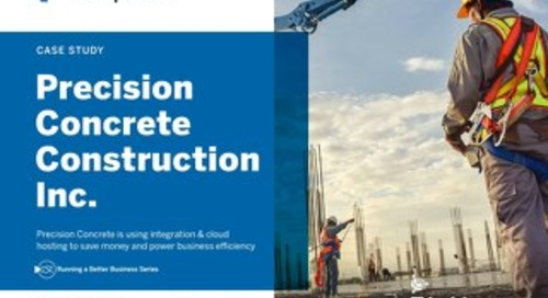 Precision Concrete Expects Six-Figure Cost Savings With ViewpointOne