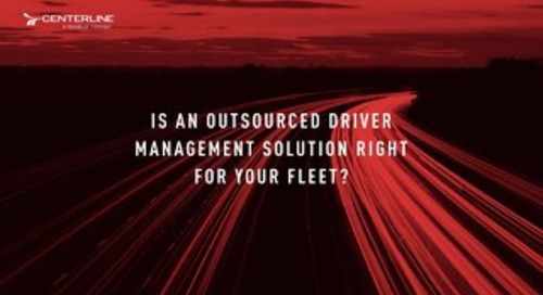 Is an Outsourced Driver Management Solution Right for your Fleet? [eBook]