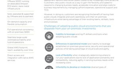 VMware Cloud on AWS - Solution Overview